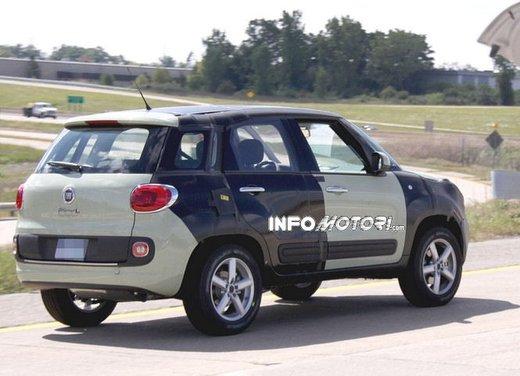 Fiat Jeep baby SUV foto spia della nuova piattaforma compatta - Foto 14 di 16