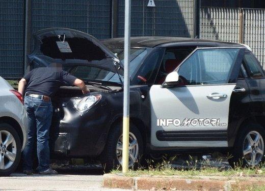 Fiat Jeep baby SUV foto spia della nuova piattaforma compatta - Foto 5 di 16