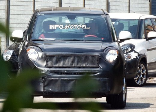Fiat Jeep baby SUV foto spia della nuova piattaforma compatta - Foto 6 di 16