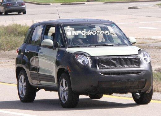 Fiat Jeep baby SUV foto spia della nuova piattaforma compatta - Foto 8 di 16