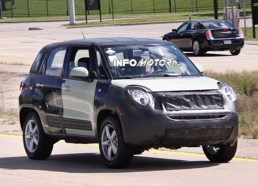 Fiat Jeep baby SUV foto spia della nuova piattaforma compatta - Foto 9 di 16