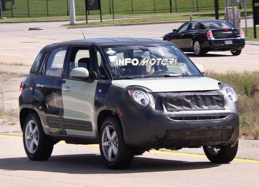 Fiat Jeep baby SUV foto spia della nuova piattaforma compatta - Foto 10 di 16
