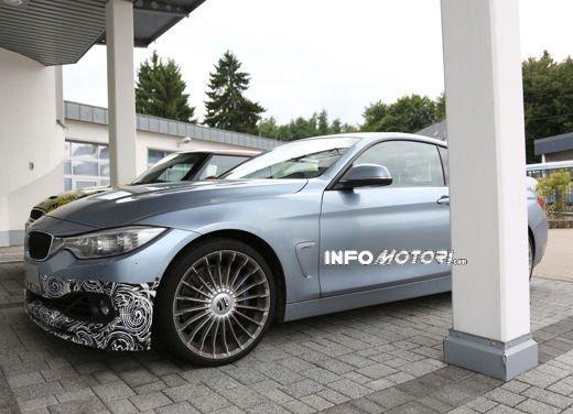 BMW Serie 4 Coupè foto spia della variante Alpina