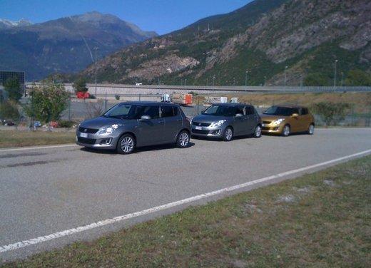 Suzuki Swift Sport 5 porte test drive - Foto 13 di 13