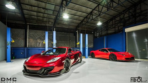 McLaren MP-4 12C by DMC - Foto 4 di 11