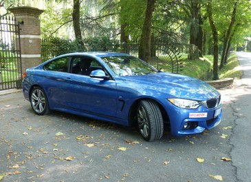 BMW Serie 4 Coupè, prova su strada della nuova BMW Serie 3 Coupè che diventa Serie 4 Coupè - Foto 9 di 26