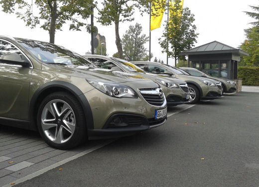 Opel Insignia Cross Tourer test drive - Foto 15 di 16