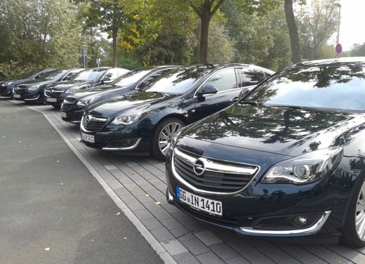 Opel Insignia Cross Tourer test drive - Foto 11 di 16