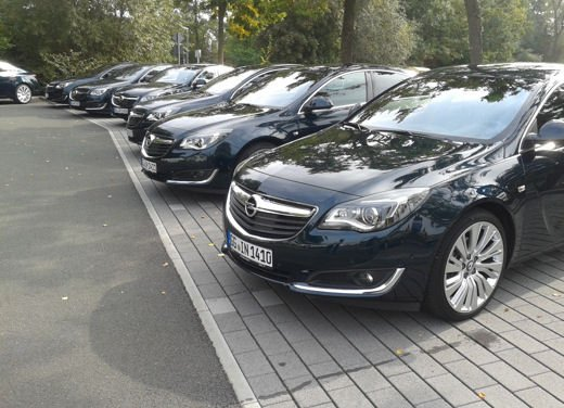 Opel Insignia Cross Tourer test drive - Foto 5 di 16
