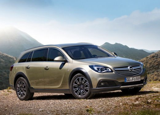 Opel Insignia Cross Tourer test drive - Foto 6 di 16