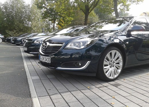 Opel Insignia Cross Tourer test drive - Foto 14 di 16