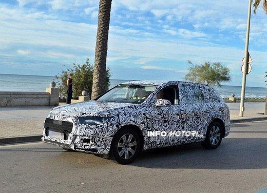 Audi Q7 nuove foto spia - Foto 3 di 9