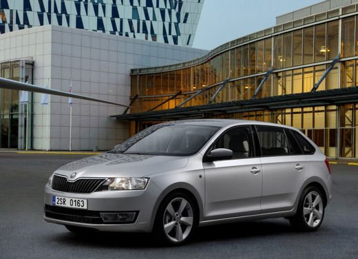 Skoda Rapid Spaceback in commercio a partire da 16.260 euro - Foto 9 di 11