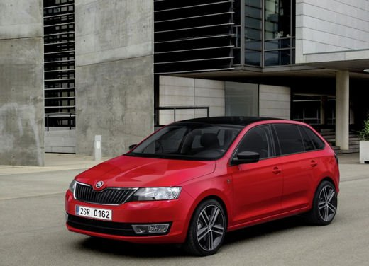 Skoda Rapid Spaceback in commercio a partire da 16.260 euro - Foto 10 di 11