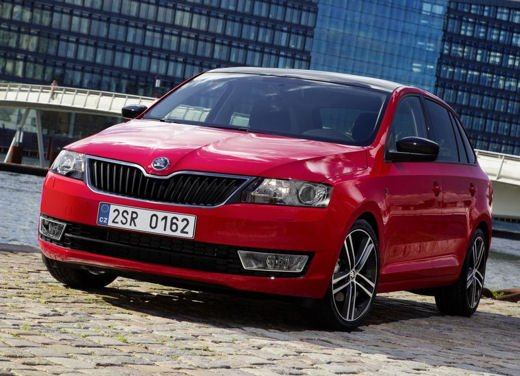 Skoda Rapid Spaceback in commercio a partire da 16.260 euro - Foto 11 di 11