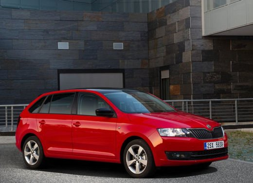 Skoda Rapid Spaceback in commercio a partire da 16.260 euro - Foto 1 di 11
