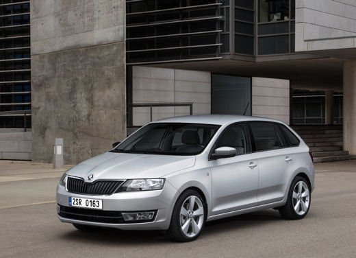Skoda Rapid Spaceback in commercio a partire da 16.260 euro - Foto 3 di 11