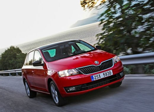 Skoda Rapid Spaceback in commercio a partire da 16.260 euro - Foto 4 di 11