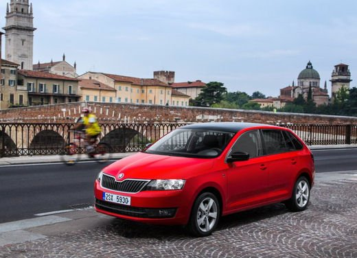 Skoda Rapid Spaceback in commercio a partire da 16.260 euro - Foto 5 di 11