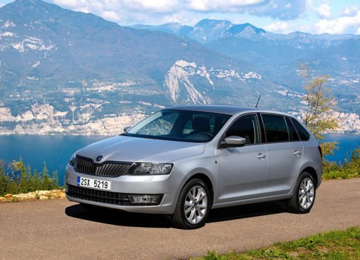 Skoda Rapid Spaceback in commercio a partire da 16.260 euro - Foto 7 di 11
