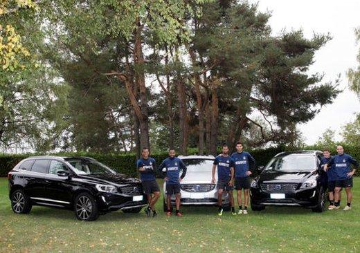 FC Internazionale, consegnate le nuove Volvo XC60 alla Pinetina