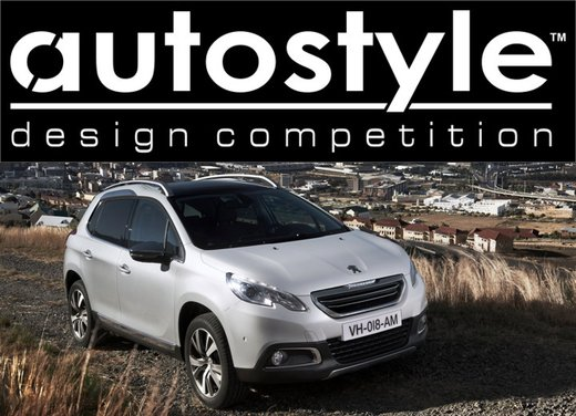 Peugeot 2008 all'Autostyle Design Competition 2013