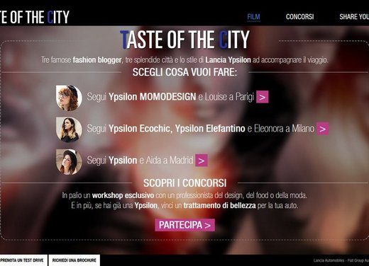"Lancia Ypsilon protagonista di ""Taste of the City"" - Foto 3 di 5"
