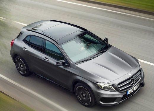 Mercedes GLA dispositivi di sicurezza