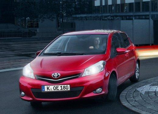 Toyota Yaris 1.0 VVT-i da 69 CV a benzina