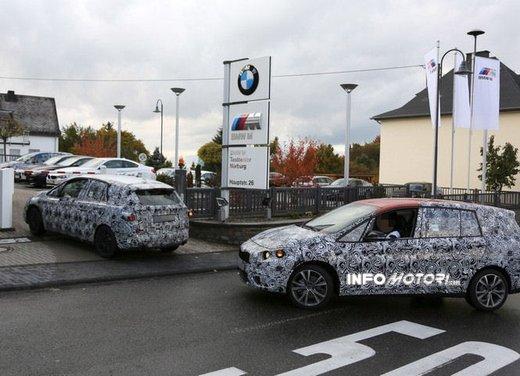 BMW Serie 1 GT foto spia delle versioni a 5 e 7 posti - Foto 12 di 19