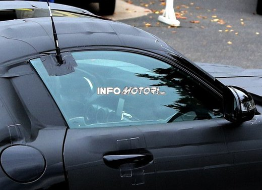 Mercedes AMG GT prime foto spia - Foto 4 di 19
