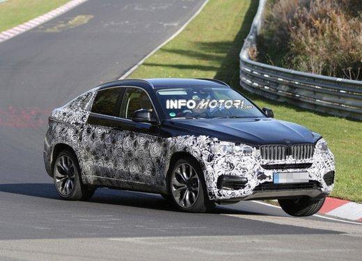 BMW X6 foto spia
