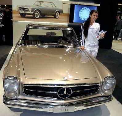 Mercedes-Benz ad Auto e Moto d'Epoca 2013 a Padova - Foto 7 di 20