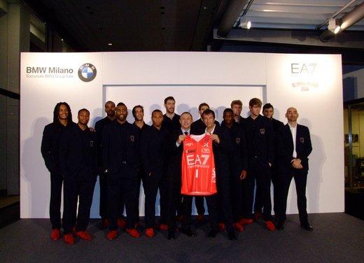 BMW ed EA7 Olimpia Milano: si rinnova l'accordo di partnership - Foto 7 di 16