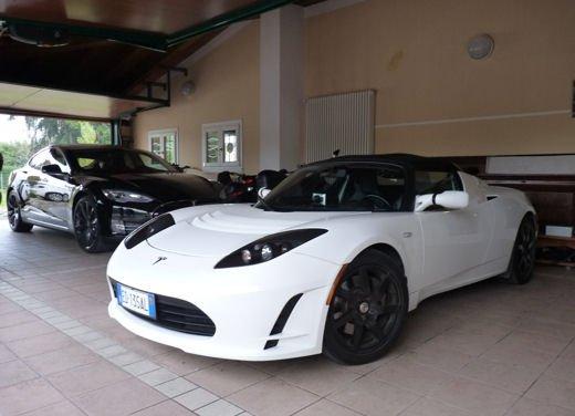 Tesla Model S prova su strada col primo cliente italiano della Tesla - Foto 16 di 22