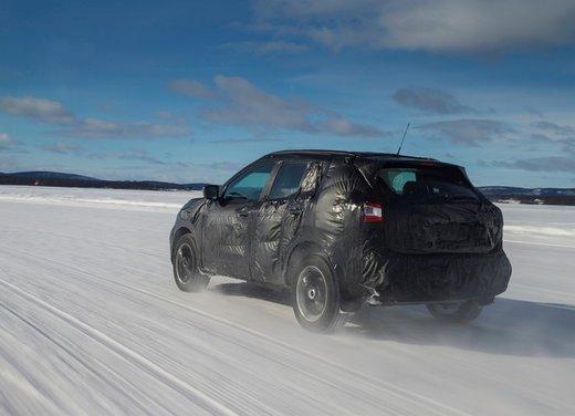 Nissan Qashqai prime foto ufficiali dei test - Foto 4 di 9