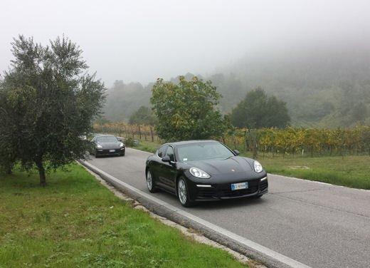 Porsche Panamera S E-Hybrid Challenge, ecco la nostra prova speciale della Panamera ibrida!