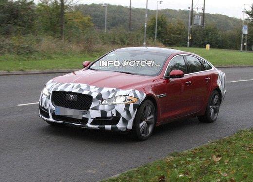 Jaguar XJ foto spia del facelift - Foto 5 di 5