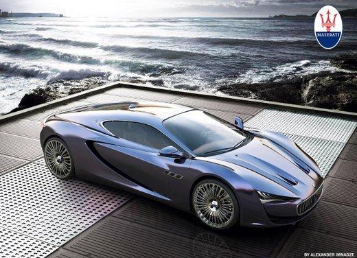 Maserati Bora Concept - Foto 1 di 5