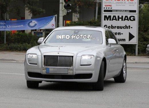 Rolls-Royce Ghost foto spia del restyling