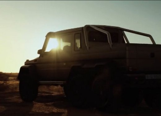 Mercedes Classe G 63 AMG 6×6 affronta il deserto in un video - Foto 1 di 11