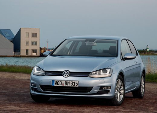 Volkswagen Golf 1.6 TDI BlueMotion record nel ThinkBlue Eco Ride - Foto 1 di 12