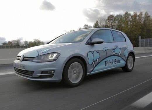 Volkswagen Golf 1.6 TDI BlueMotion record nel ThinkBlue Eco Ride - Foto 2 di 12