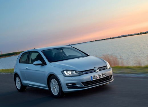 Volkswagen Golf 1.6 TDI BlueMotion record nel ThinkBlue Eco Ride - Foto 6 di 12