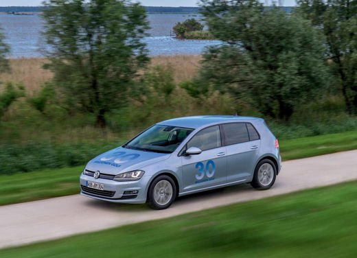 Volkswagen Golf 1.6 TDI BlueMotion record nel ThinkBlue Eco Ride - Foto 7 di 12