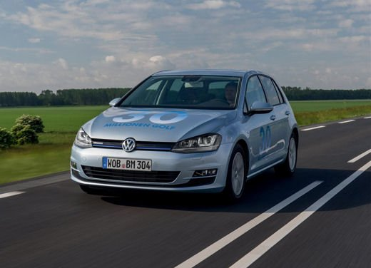Volkswagen Golf 1.6 TDI BlueMotion record nel ThinkBlue Eco Ride - Foto 8 di 12