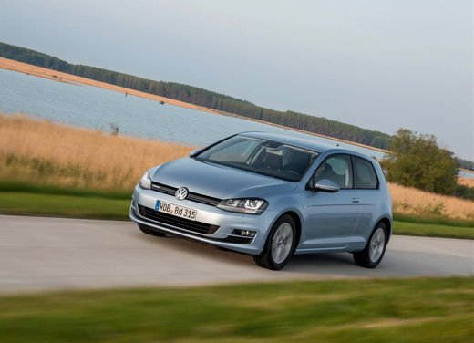 Volkswagen Golf 1.6 TDI BlueMotion record nel ThinkBlue Eco Ride - Foto 9 di 12