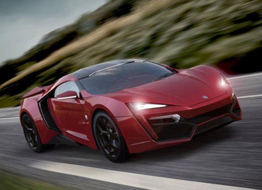 W Motors Lykan Hypersport - Foto 2 di 13