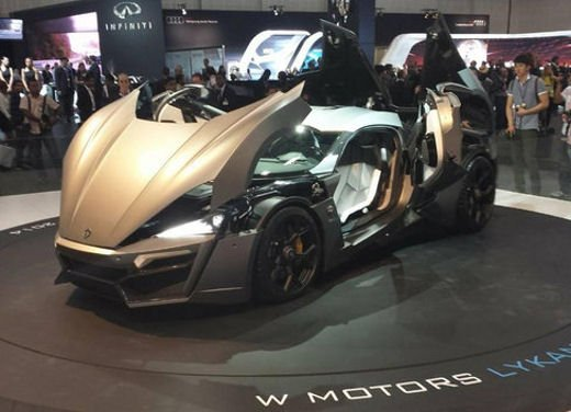 W Motors Lykan Hypersport - Foto 3 di 13