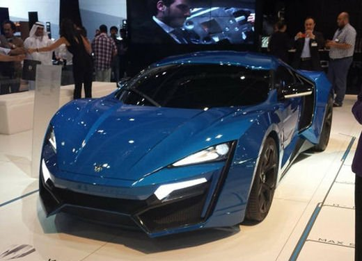 W Motors Lykan Hypersport - Foto 4 di 13